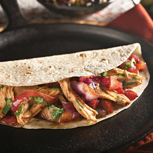 Lime-Cilantro Chicken Fajitas