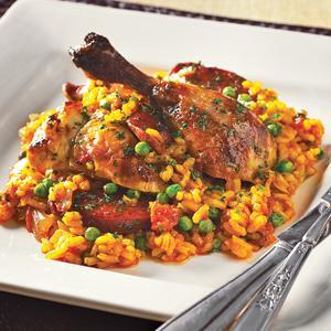 Roast Chicken and Chorizo Paella