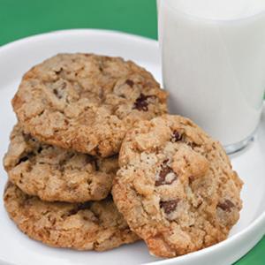 Laurie Lufkins Toasted Pecan Toffee Cookies