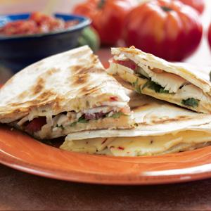 Hickory Smoked Turkey Breast Quesadilla