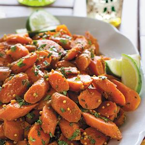 Carrots with Indian Spices