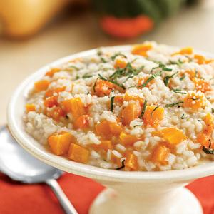 Squash Risotto with Sage