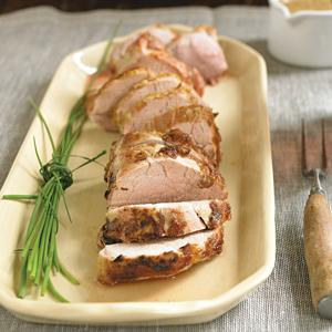 Pork Tenderloin with Sherry Vinegar Pan Sauce