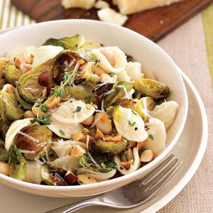 Orecchiette w/ Roasted Brussels Sprouts