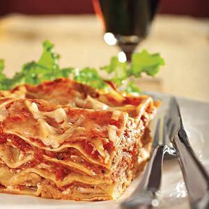 BBQ Pork Lasagna