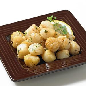 Simply Fancy Sauteed Bay Scallops