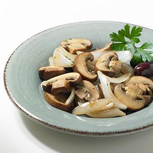 Sauteed Mushrooms and Onions