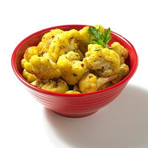 Easy Curried Cauliflower