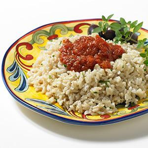 Saucy Brown Rice
