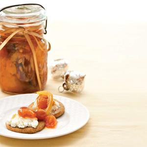 Sweet Spiced Kumquats