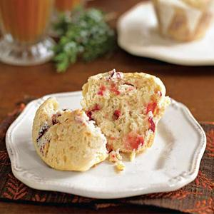Cranberry Surprise Muffins