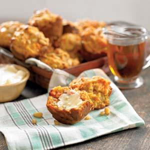 Southwestern Carrot Muffins
