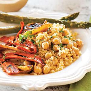 Couscous With Spiced Honeyed Vegetables