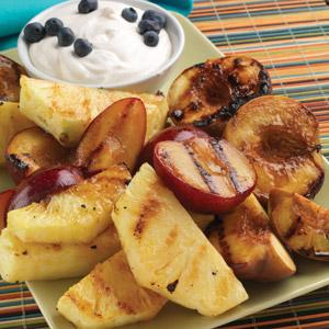 Marinated Grilled Fruit