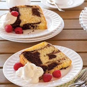 Marbled Chiffon Cake