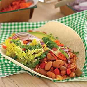 Pinto Bean Tacos