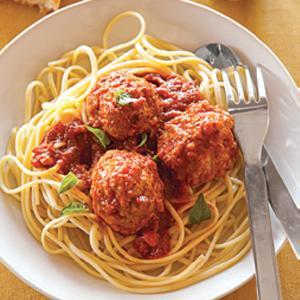 Dolores's Meatballs with Chianti Tomato Sauce