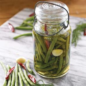 Chili Dilly Green Beans