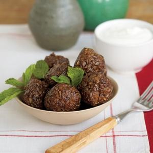 Persian Pomegranate Meatballs