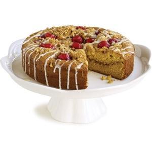 Sour Cream Cherry-Streusel Coffee Cake