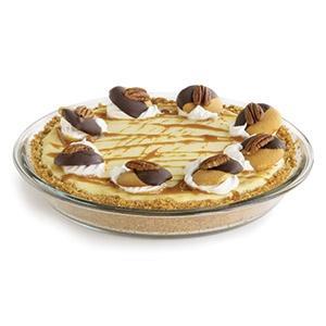 Chocolate Layer Cheesecake Turtle Pie