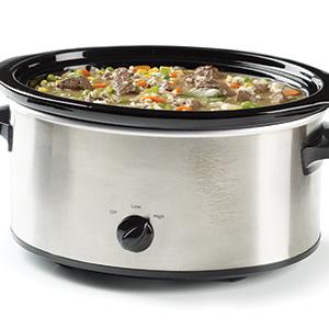 Simple Crock Pot Beef Barley Soup