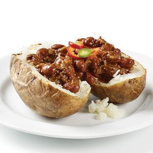 Baked Potato with Chili