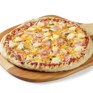 Healthful Hawaiian Pizza