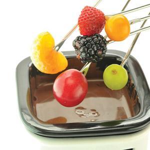 Angels' Delight Fresh Fruit Chocolate Fondue