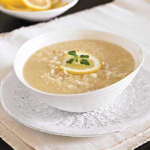 Avgolemono (Greek Chicken, Egg, and Lemon Soup)
