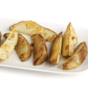 So Simple Parmesan Potato Wedges