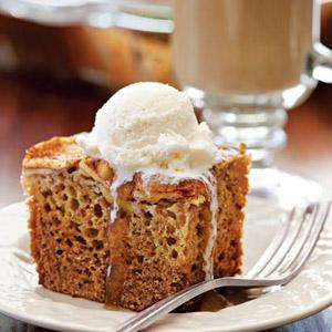 Brandied Apple Cake
