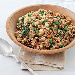 Wild Rice and Quinoa Pilaf