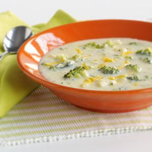 Broccoli-Cabot Cheddar Soup
