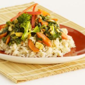 Broccoli Peanut Stir-Fry