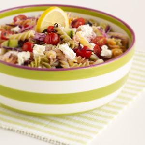 Greekish Pasta Salad