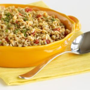 Brown Rice & Lentil Side Dish