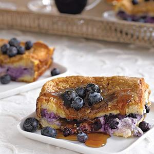 Blueberry Stuffed French Toast