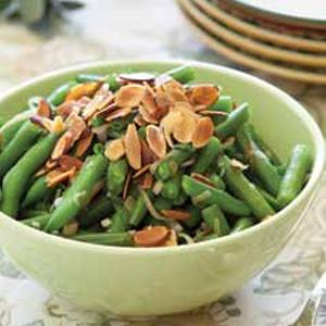 Sage-Almond Green Bean Saute