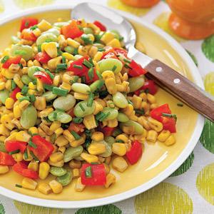 Roasted Corn Succotash
