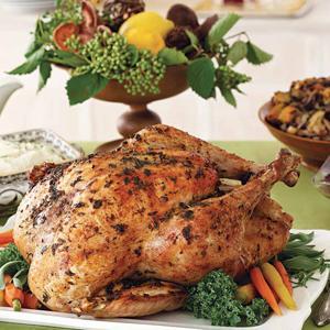 Orange-Herb Turkey and Gravy