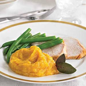 Tangerine-Scented Mashed Butternut Squash