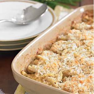 Fennel and Apple Gratin