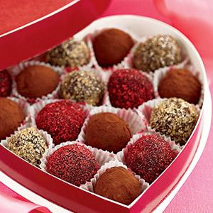 Enlightened Chocolate Truffles