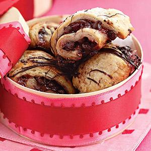 Chocolate-Cherry Rugelach