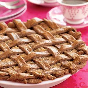Maltese Torta tal-Marmurat (Almond, Chocolate, and Ricotta Pie)