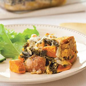 Sweet Potato and Kale Panade