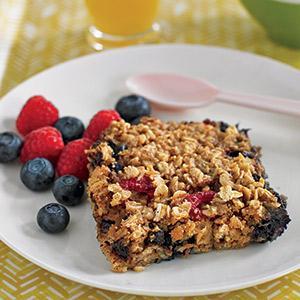 Breakfast Oatmeal Bake