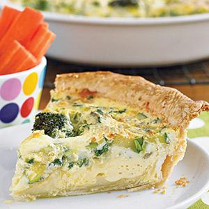 Hidden Vegetable Quiche