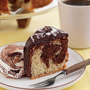 Father's Day Marble Cake